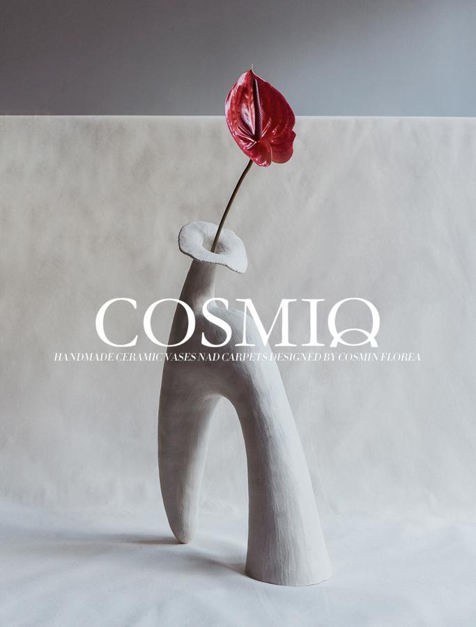 cosmiq by cosmin florea ceramics linaria vulgaris vase